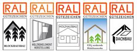 RAL-Gütezeichen Holzbau Holzhaus